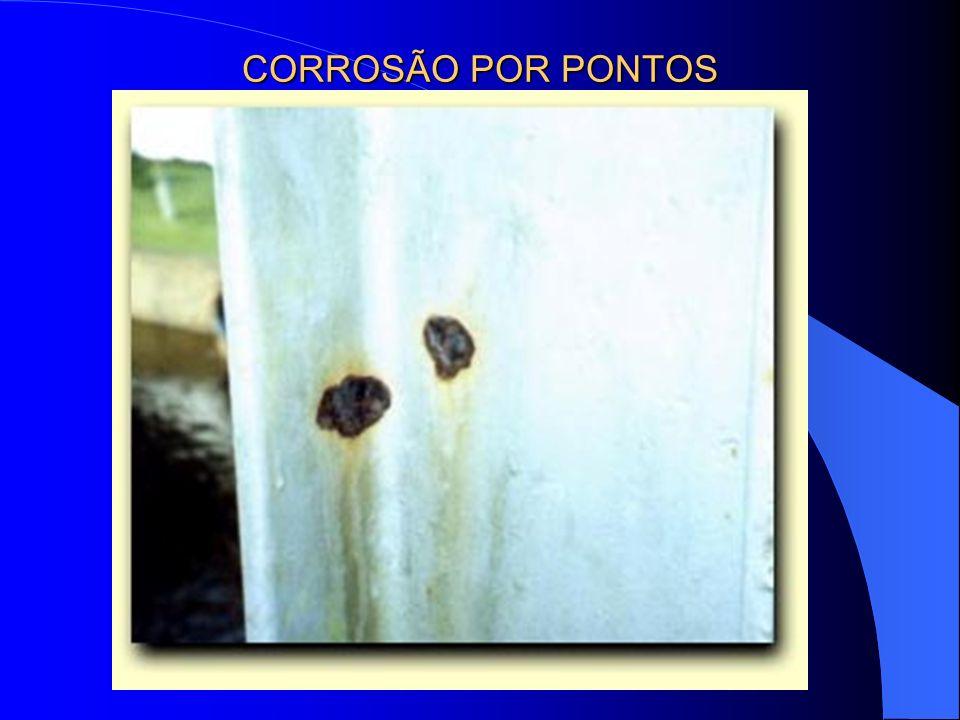 CORROSÃO POR PONTOS