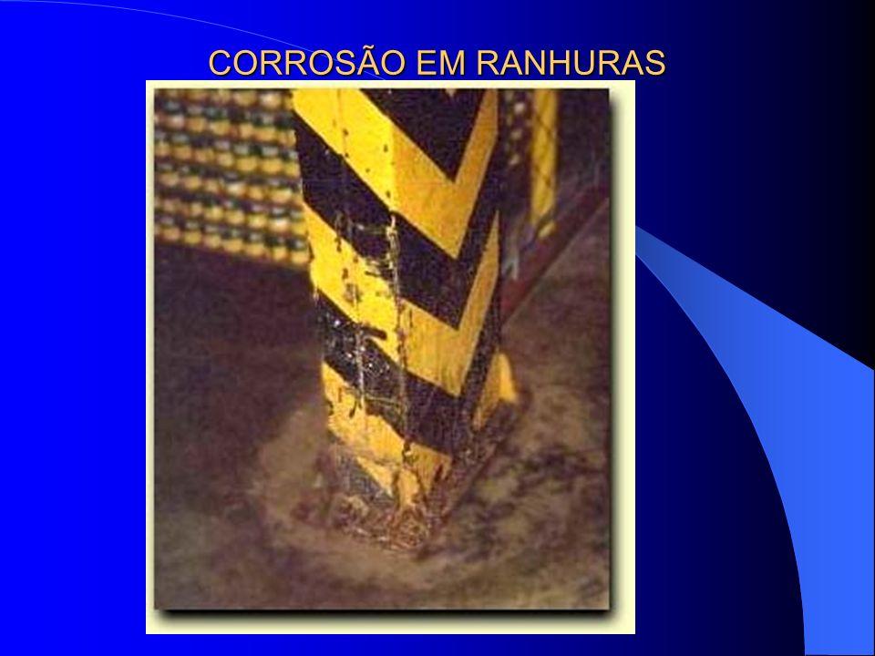 CORROSÃO EM RANHURAS