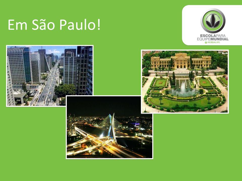 Em São Paulo!