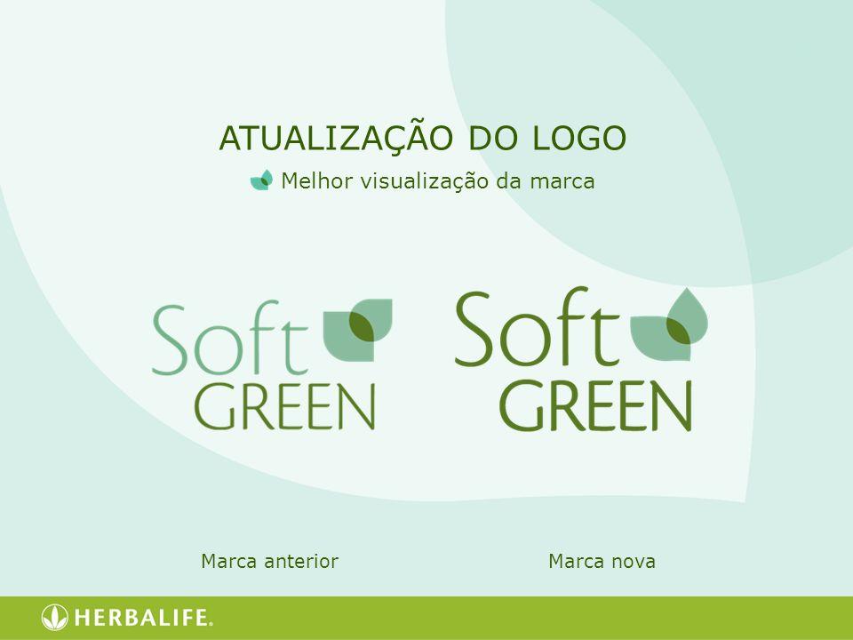 ATUALIZAÇÃO DO LOGO Melhor visualização da marca Marca anteriorMarca nova