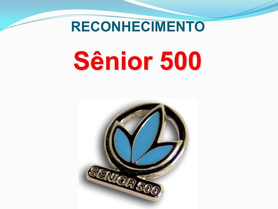 Sênior 500 RECONHECIMENTO