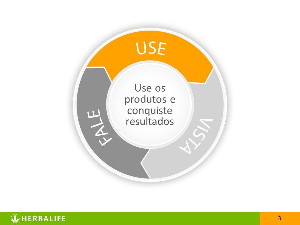 3 Use os produtos e conquiste resultados