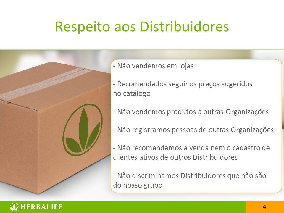 4 - Não vendemos em lojas - Recomendados seguir os preços sugeridos no catálogo - Não vendemos produtos à outras Organizações - Não registramos pessoa