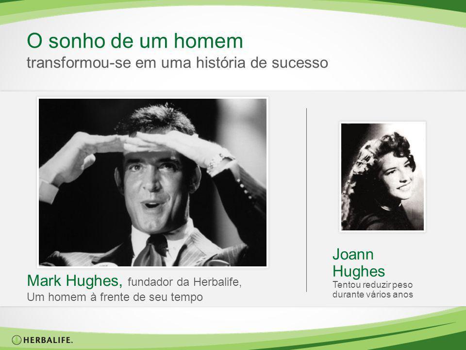 Joann Hughes Tentou reduzir peso durante vários anos Mark Hughes, fundador da Herbalife, Um homem à frente de seu tempo O sonho de um homem transformo