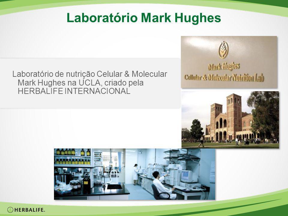 Laboratório Mark Hughes Laboratório de nutrição Celular & Molecular Mark Hughes na UCLA, criado pela HERBALIFE INTERNACIONAL