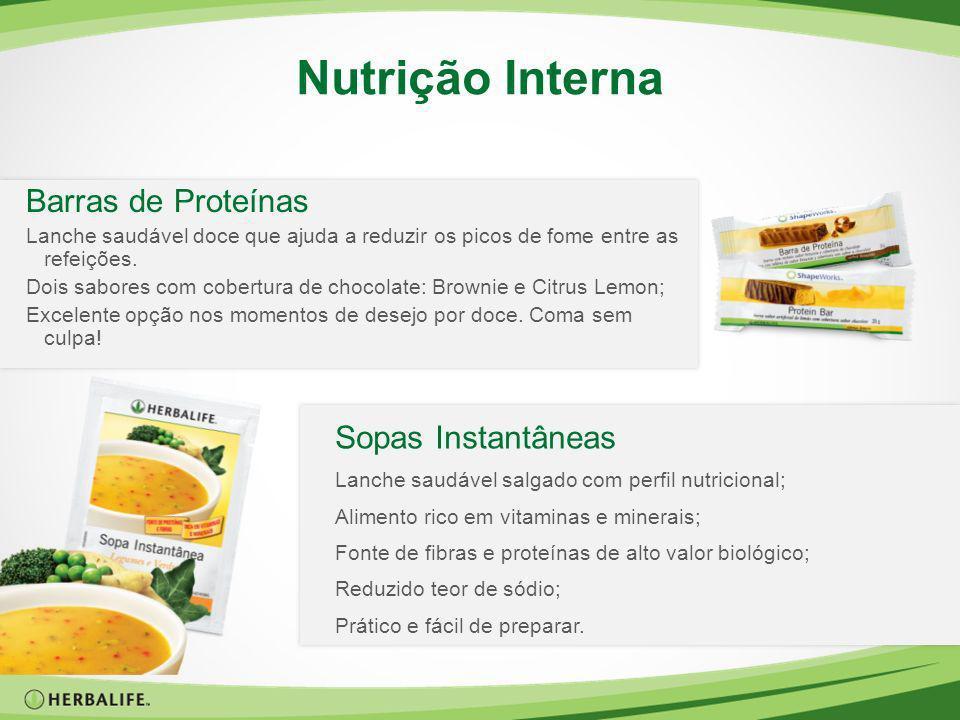 Nutrição Interna Barras de Proteínas Lanche saudável doce que ajuda a reduzir os picos de fome entre as refeições. Dois sabores com cobertura de choco