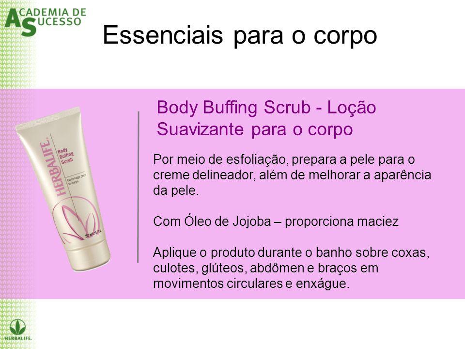 Body Buffing Scrub - Loção Suavizante para o corpo Essenciais para o corpo Por meio de esfoliação, prepara a pele para o creme delineador, além de mel