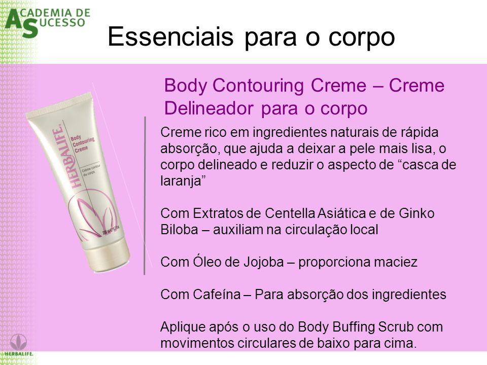 Body Contouring Creme – Creme Delineador para o corpo Essenciais para o corpo Creme rico em ingredientes naturais de rápida absorção, que ajuda a deix
