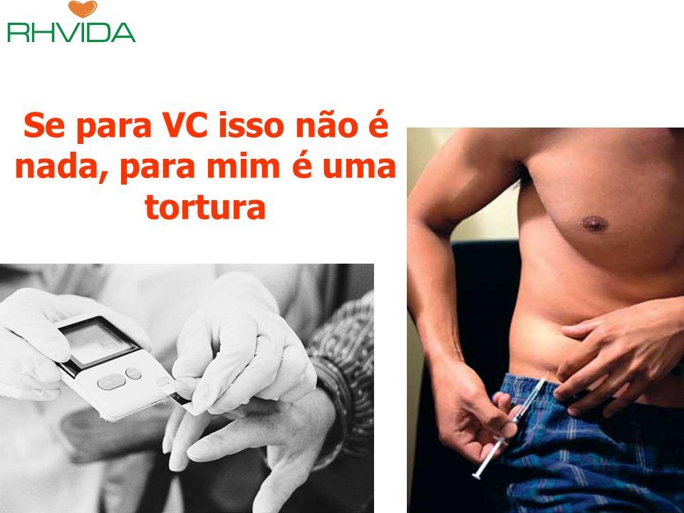 Copyright © RHVIDA S/C Ltda. www.rhvida.com.br Se para VC isso não é nada, para mim é uma tortura