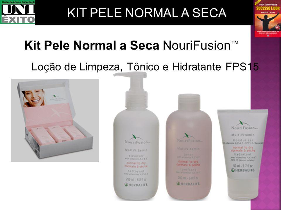 Loção de Limpeza, Tônico e Hidratante FPS15 Kit Pele Normal a Seca NouriFusion KIT PELE NORMAL A SECA