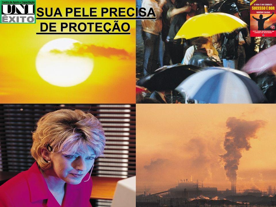 SUA PELE PRECISA DE PROTEÇÃO DE PROTEÇÃO