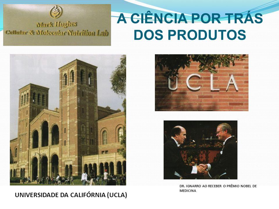 UNIVERSIDADE DA CALIFÓRNIA (UCLA) DR. IGNARRO AO RECEBER O PRÊMIO NOBEL DE MEDICINA A CIÊNCIA POR TRÁS DOS PRODUTOS