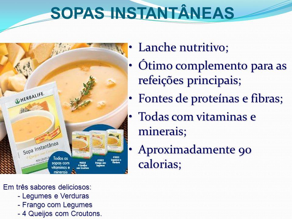 Lanche nutritivo;Lanche nutritivo; Ótimo complemento para as refeições principais;Ótimo complemento para as refeições principais; Fontes de proteínas