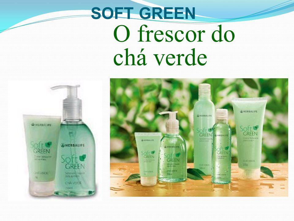 O frescor do chá verde SOFT GREEN