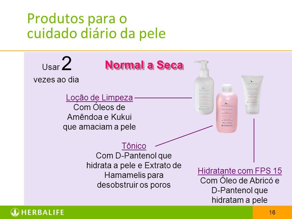 16 Produtos para o cuidado diário da pele Normal a Seca Usar 2 vezes ao dia Loção de Limpeza Com Óleos de Amêndoa e Kukui que amaciam a pele Tônico Co