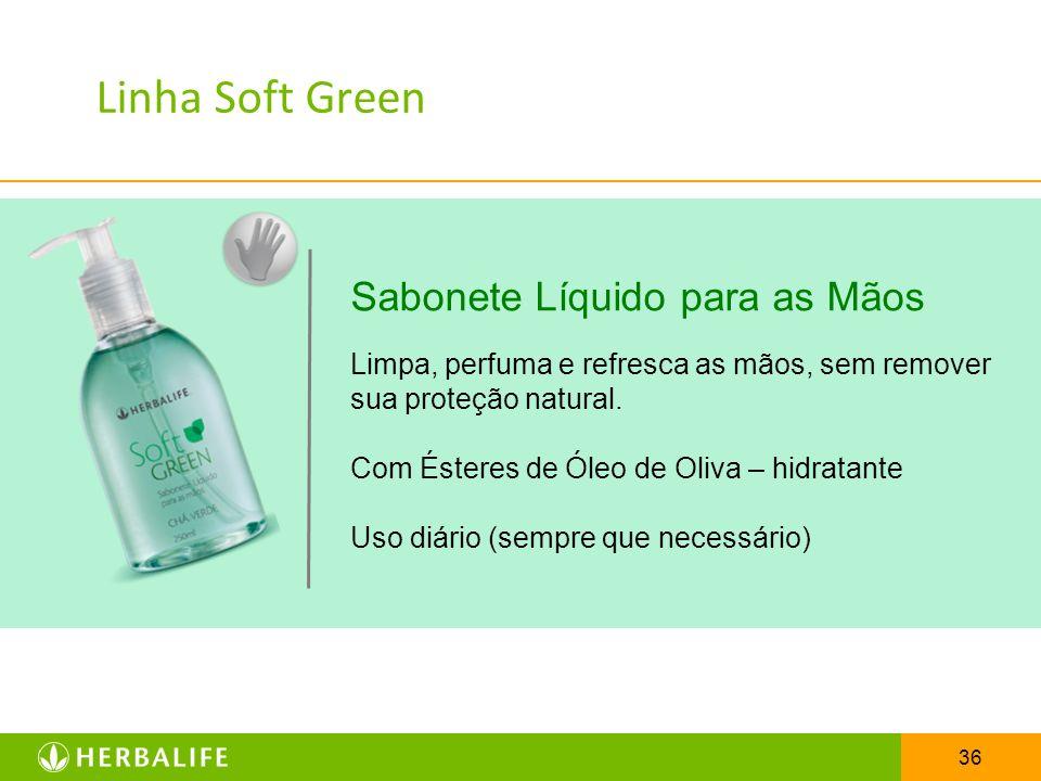 36 Sabonete Líquido para as Mãos Limpa, perfuma e refresca as mãos, sem remover sua proteção natural. Com Ésteres de Óleo de Oliva – hidratante Uso di