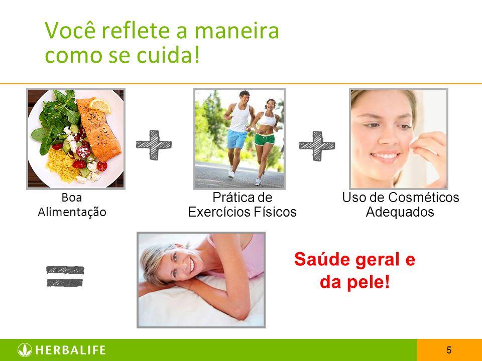 5 Boa Alimentação Prática de Exercícios Físicos Uso de Cosméticos Adequados Saúde geral e da pele!