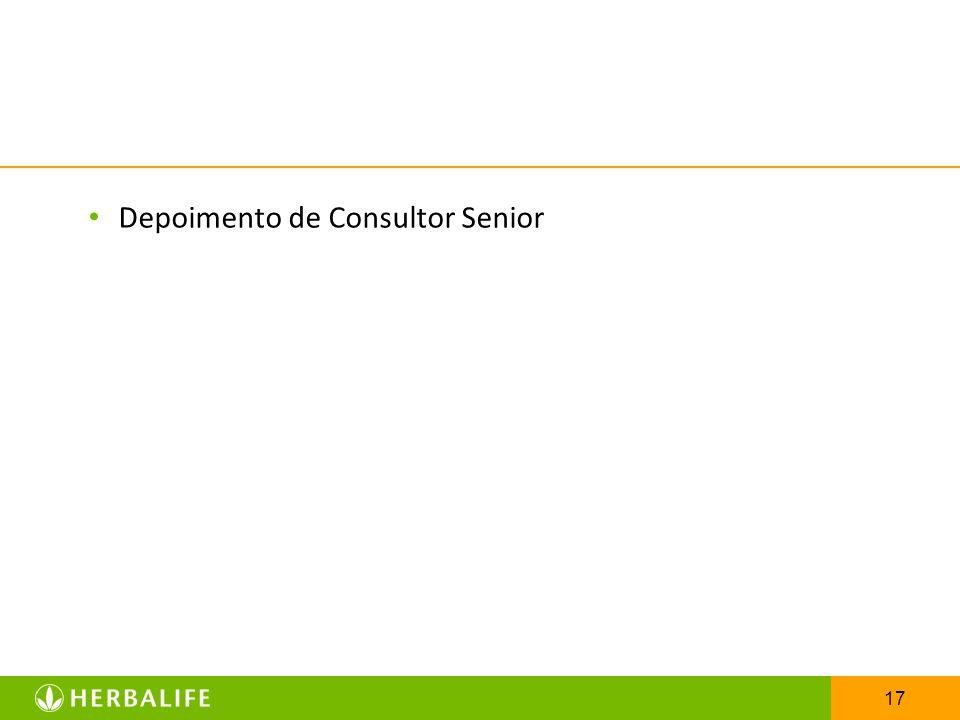 17 Depoimento de Consultor Senior