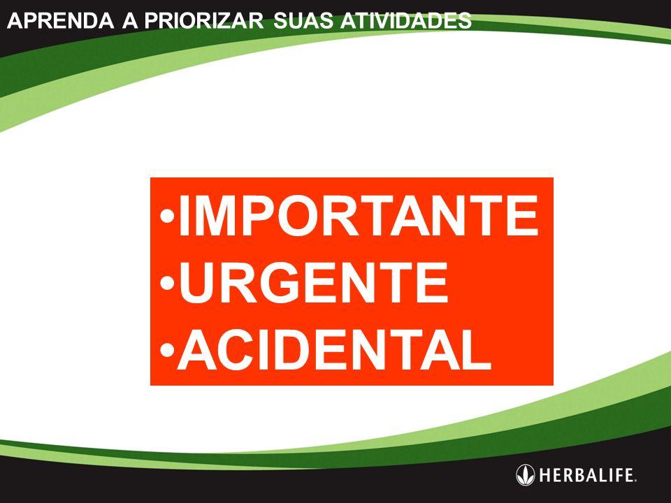 APRENDA A PRIORIZAR SUAS ATIVIDADES IMPORTANTE URGENTE ACIDENTAL