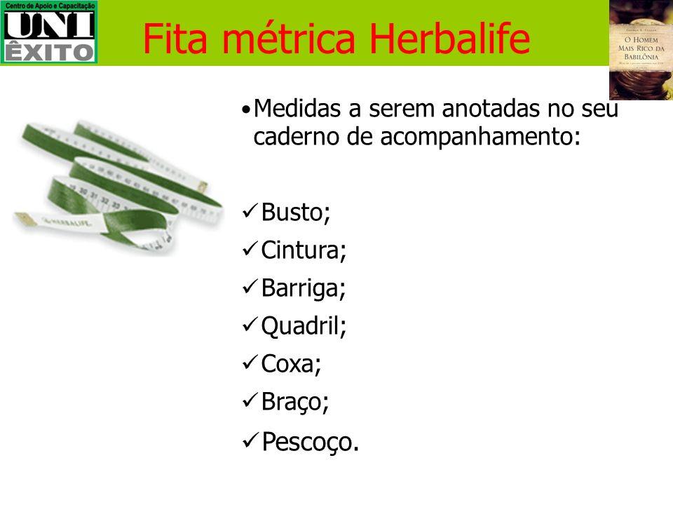 Fita métrica Herbalife Vendida em pacotes com 10 na Herbalife; Distribua a seus clientes de longo prazo; Promova a sua marca!