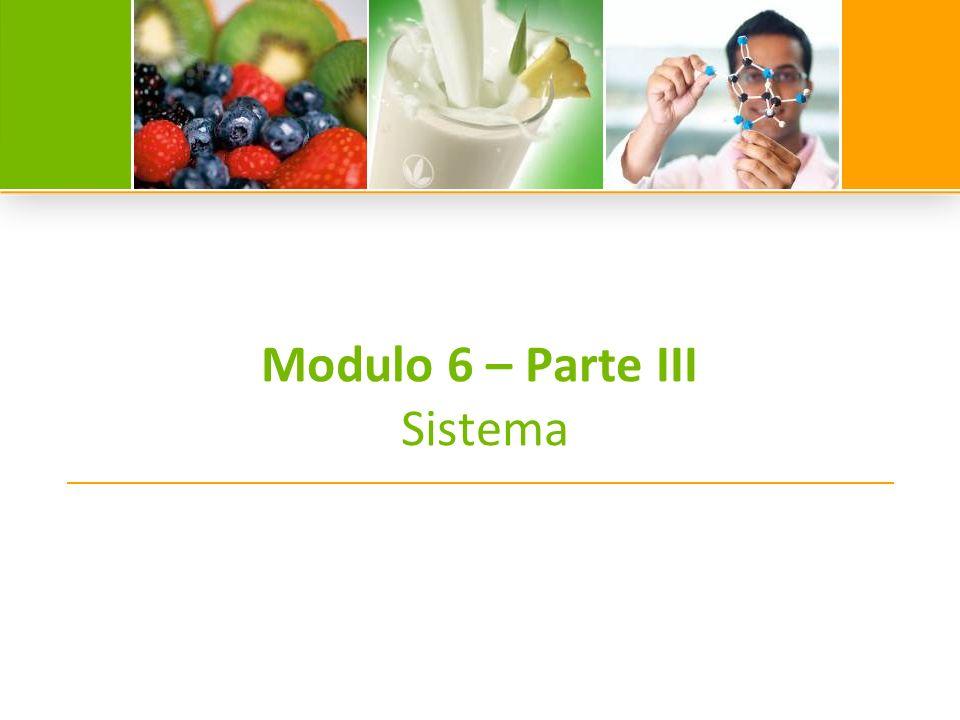 Modulo 6 – Parte III Sistema