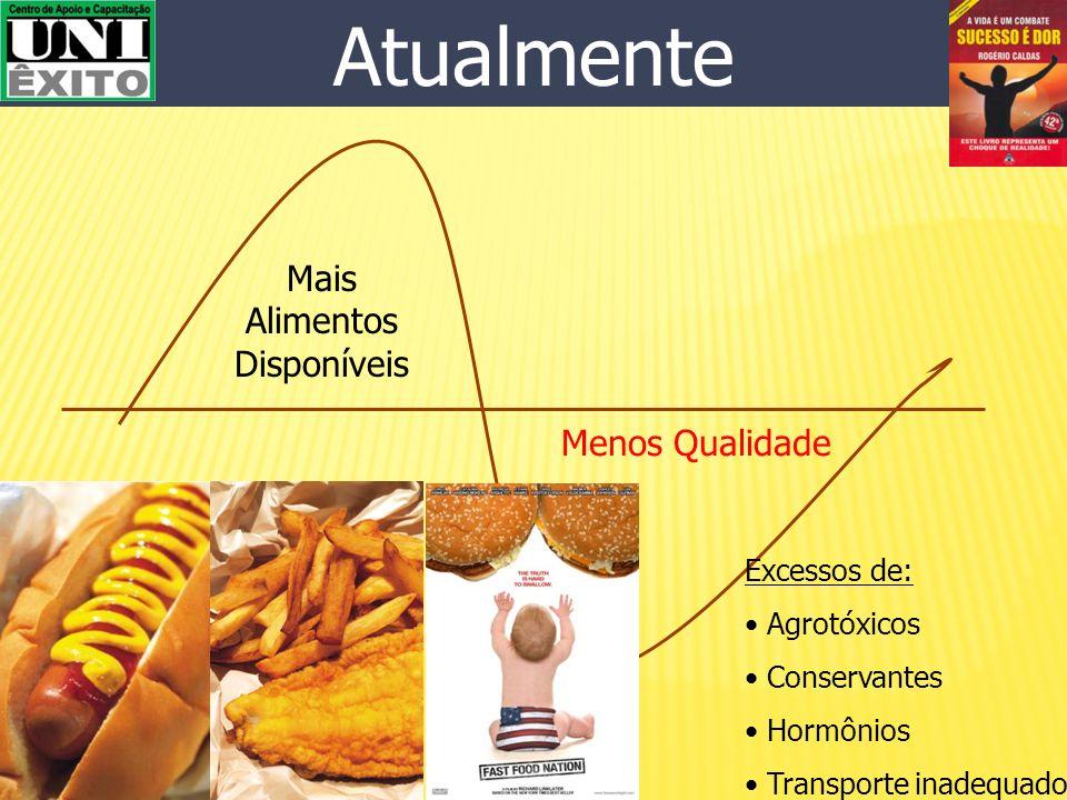 Menos Alimentos Mais Qualidade No Passado