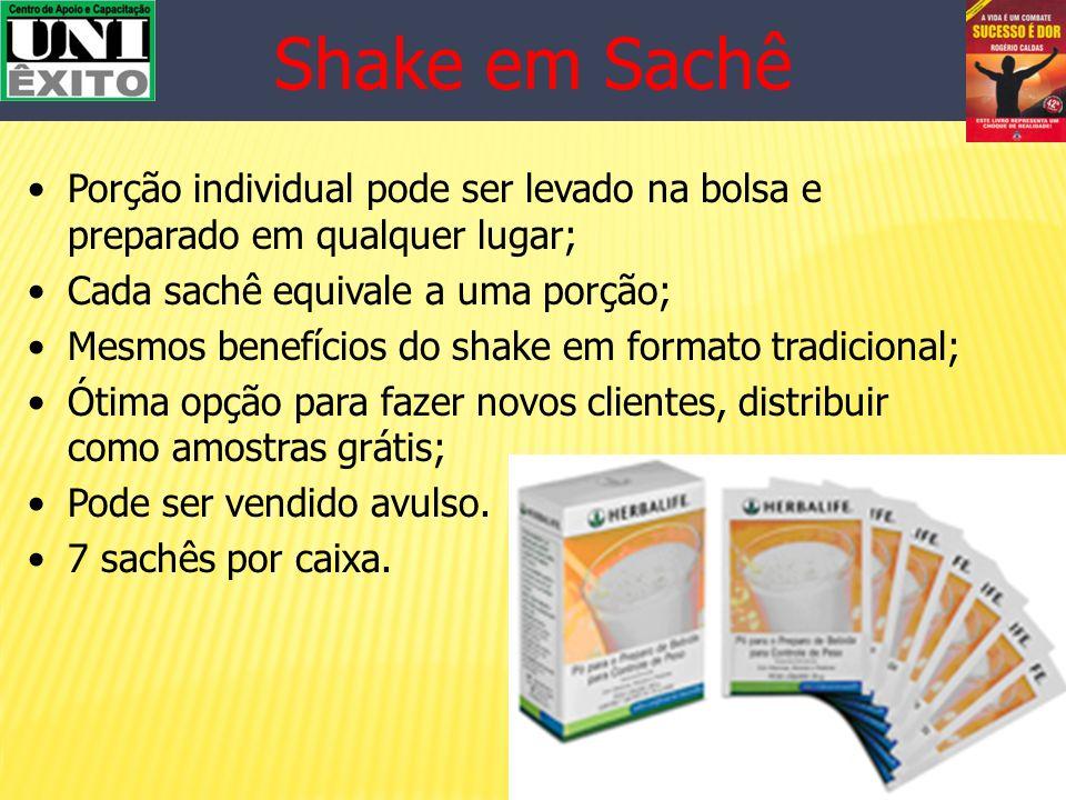Shake (Pó Nutricional) Alimento com alto teor de proteínas Opção de refeição rápida e saudável Oferece nutrientes necessários para substituir a refeiç