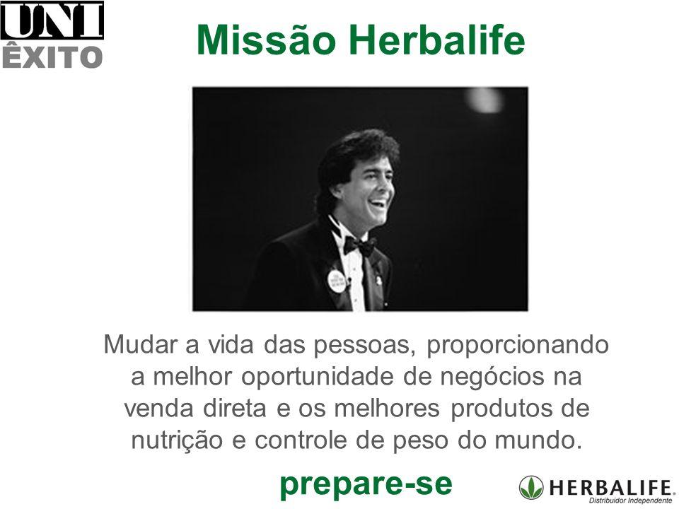 Mudar a vida das pessoas, proporcionando a melhor oportunidade de negócios na venda direta e os melhores produtos de nutrição e controle de peso do mundo.