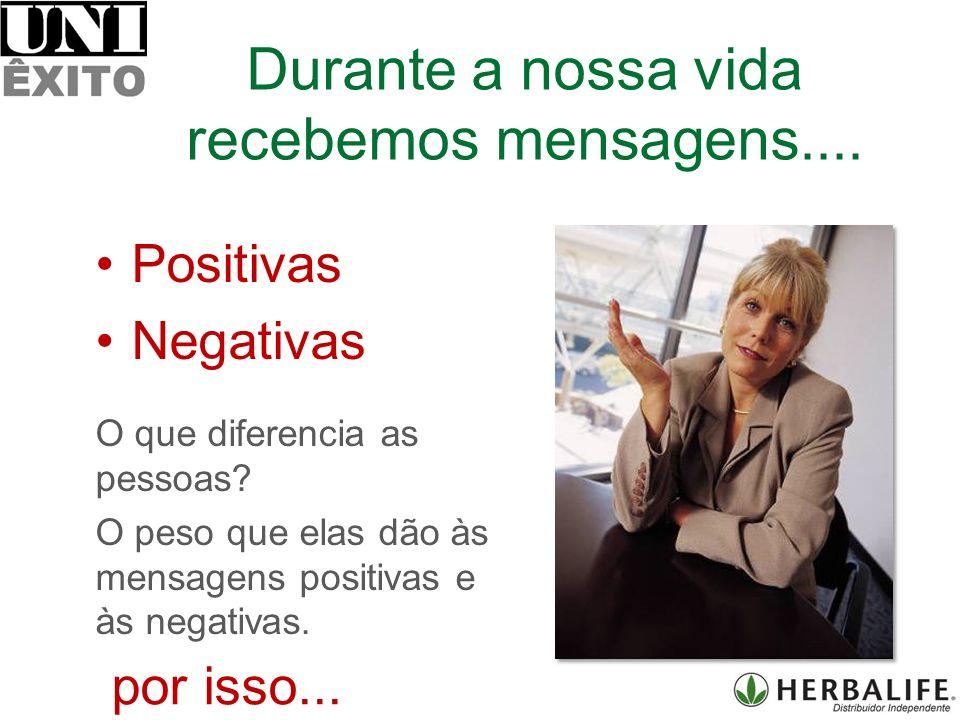 Positivas Negativas O que diferencia as pessoas.