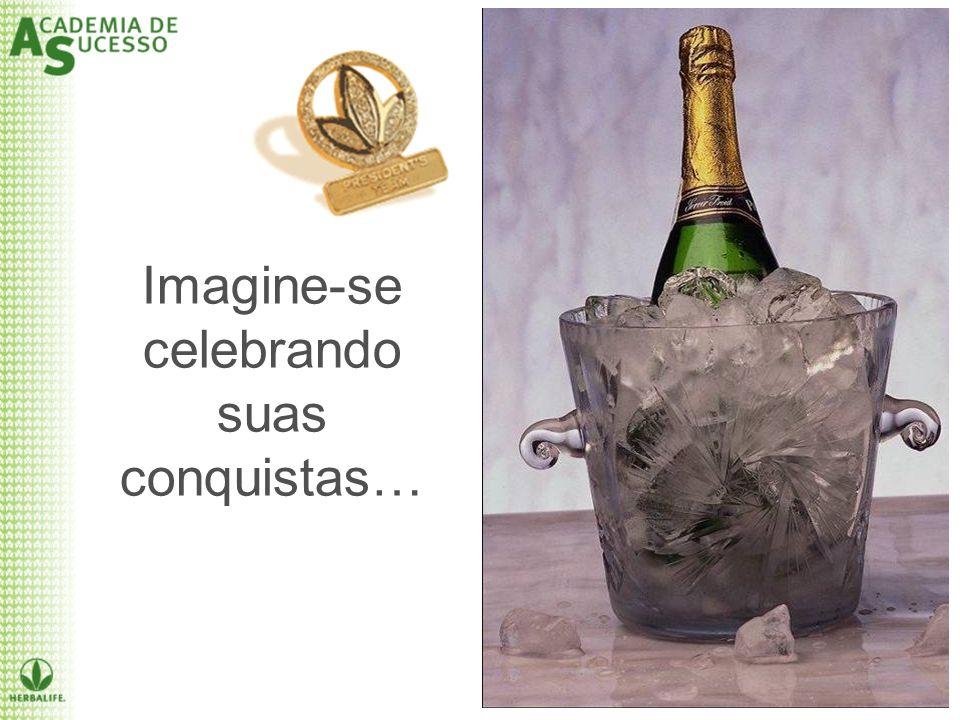 Imagine-se celebrando suas conquistas…