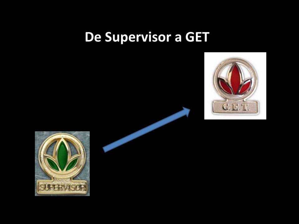 Alguns distribuidores se qualificam para a equipe Get e param de se desenvolver.