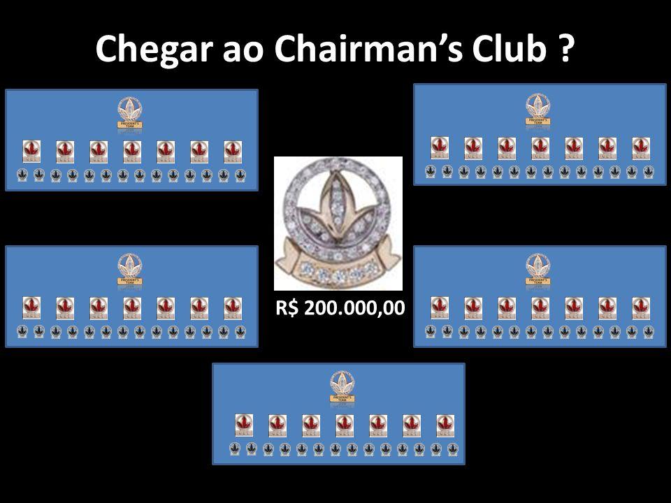 Chegar ao Chairmans Club ? R$ 200.000,00