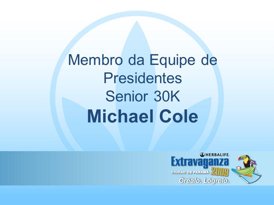 Membro da Equipe de Presidentes Senior 30K Michael Cole