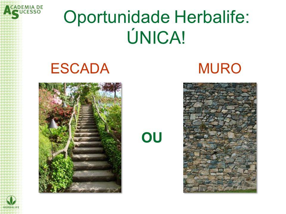 ESCADAMURO OU Oportunidade Herbalife: ÚNICA!