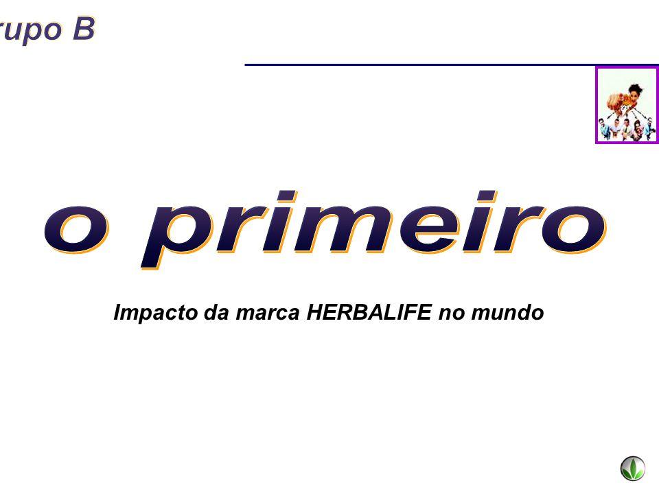 Impacto da marca HERBALIFE no mundo