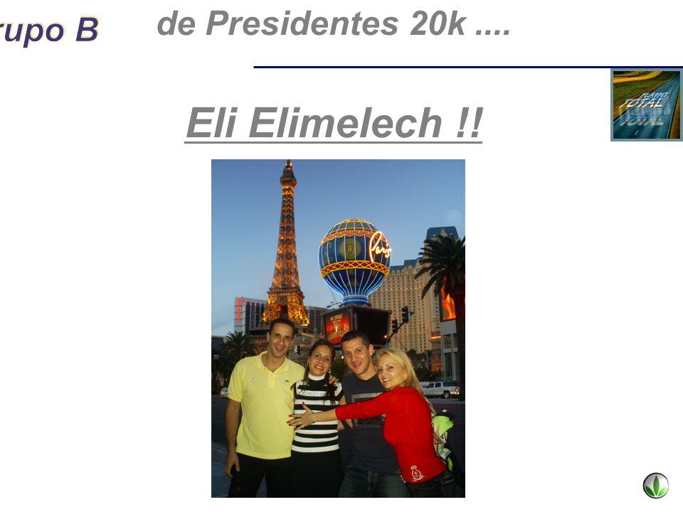 de Presidentes 20k.... Eli Elimelech !!
