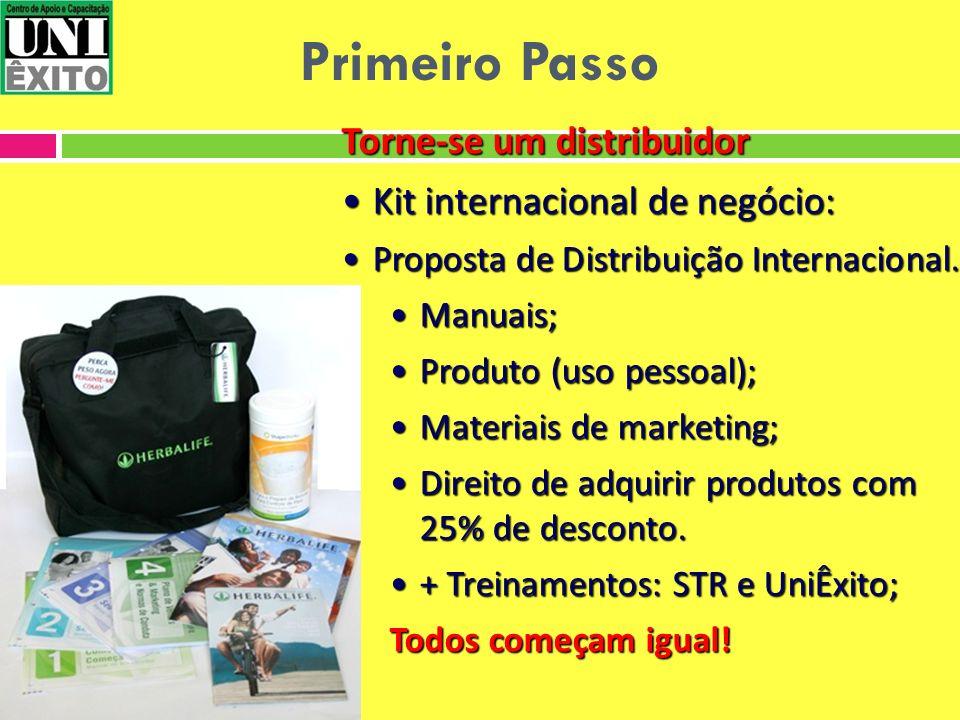 Torne-se um distribuidor Kit internacional de negócio:Kit internacional de negócio: Proposta de Distribuição Internacional.Proposta de Distribuição In