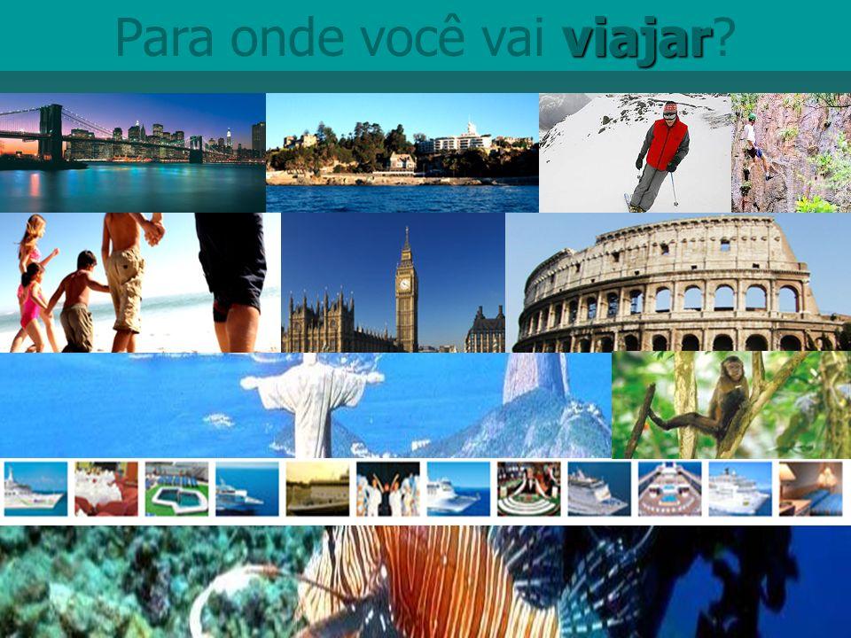 viajar Para onde você vai viajar?