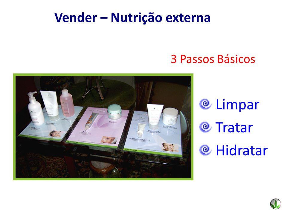 3 Passos Básicos Limpar Tratar Hidratar Vender – Nutrição externa