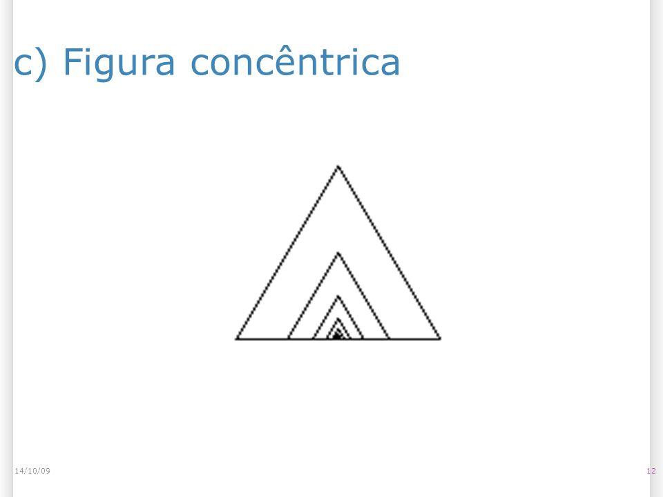 c) Figura concêntrica 1214/10/09