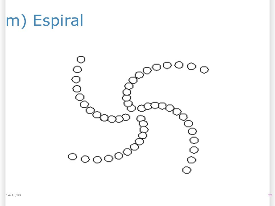 m) Espiral 2214/10/09