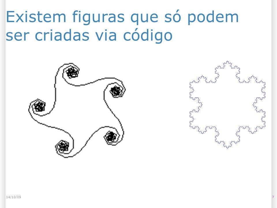 Existem figuras que só podem ser criadas via código 714/10/09