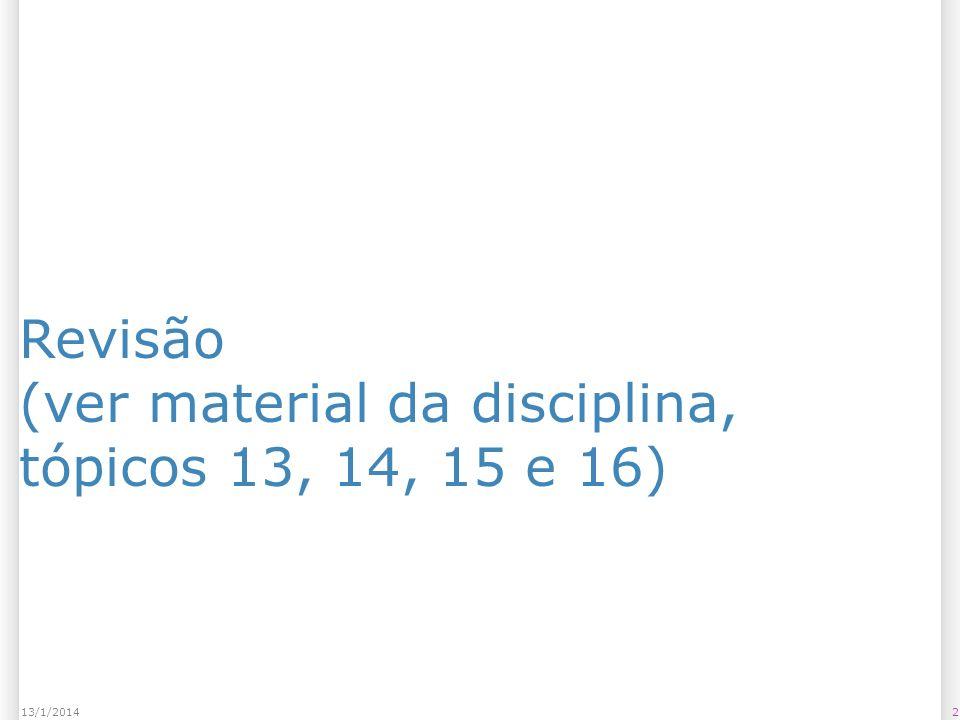 313/1/2014 Exercícios