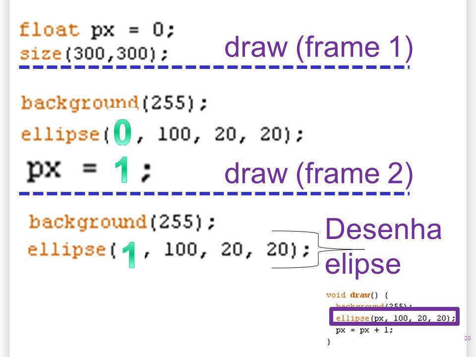 20 draw (frame 1) Desenha elipse draw (frame 2)