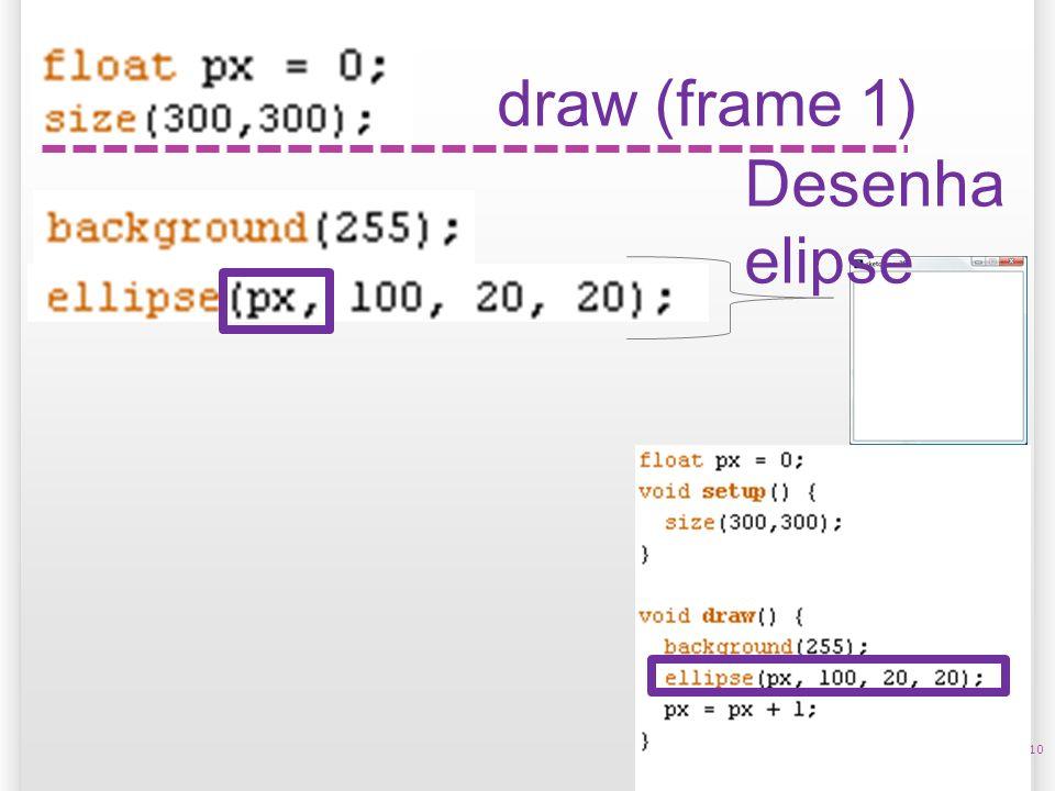 10 draw (frame 1) Desenha elipse