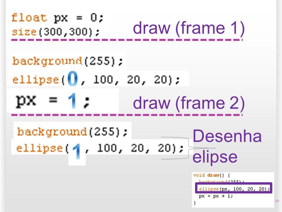 19 draw (frame 1) Desenha elipse draw (frame 2)