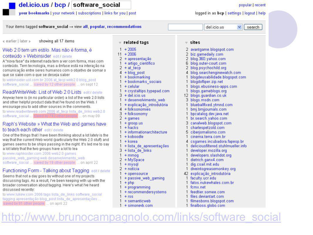 http://www.brunocampagnolo.com/links/software_social