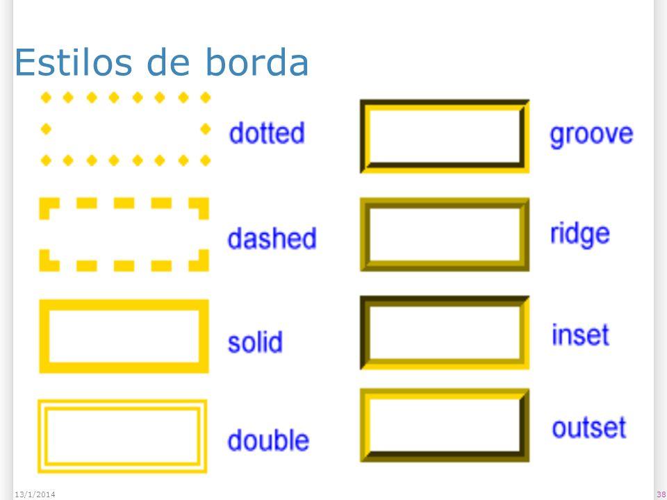 Estilos de borda 3813/1/2014