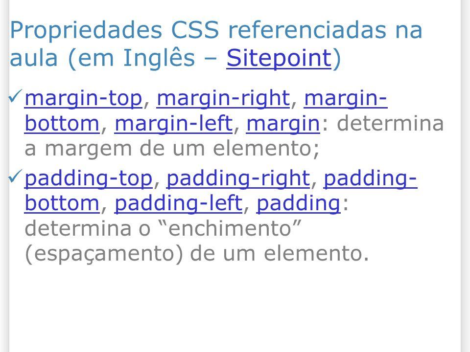 Todos os elementos em CSS estão dentro de uma caixa