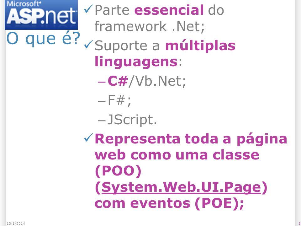 ASP.NET O que é.